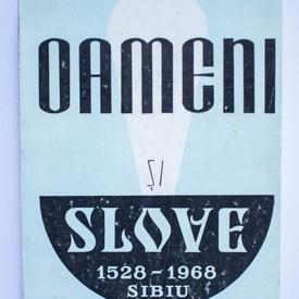 Viorel G. Muntean - Oameni si slove. File din istoria artelor grafice sibiene