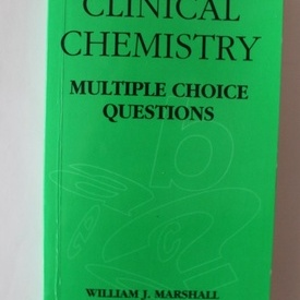 William J. Marshall - Clinical Chemestry (editie in limba engleza)