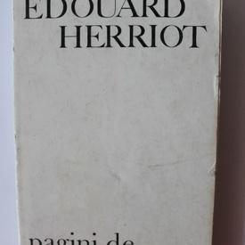 Edouard Herriot - Pagini de jurnal