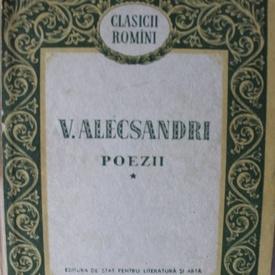 V. Alecsandri - Poezii (vol. I)