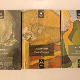 Max Blecher - Vizuina luminata. Inimi cicatrizate. Intamplari in irealitatea imediata (3 vol, editie hardcover)