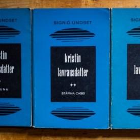 Sigrid Undset - Kristin Lavransdatter (3 vol.)