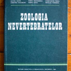 Zachiu Matic, Maria Nastasescu, Constantin Pisica, Libertina Solomon, Maria Suciu, Nicolae Tomescu - Zoologia nevertebratelor (editie hardcover)
