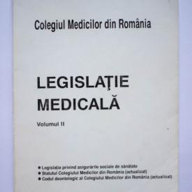 Legislatie medicala (vol. II)