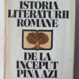 Al. Piru - Istoria literaturii romane de la inceput pana azi (editie hardcover)