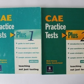 Alan Stanton, Susan Morris, Nick Kenny, Peter Sunderland - CAE Practice tests (2 vol.)