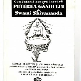 Alexandru Dobos - Comentarii asupra lucrarii Puterea gandului de Swami Shivananda
