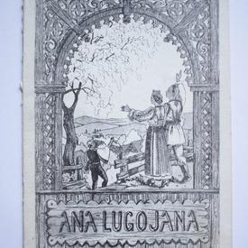 Ana Lugojana - opereta in 3 acte (program)
