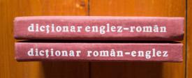Andrei Bantas - Dictionar englez-roman, roman-englez (2 vol., editie hardcover)