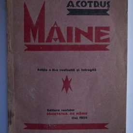 Aron Cotrus - Maine (editie interbelica)