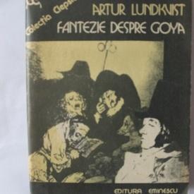 Artur Lundkvist - Fantezie despre Goya