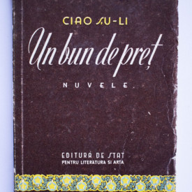 Ciao Su-li - Un bun de pret (nuvele)