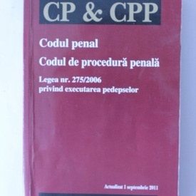 Codul penal si Codul de procedura penala