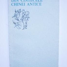 Colectiv autori - Din cantecele Chinei Antice