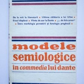 D`Arco Silvio Avalle - Modele semiologice in commedia lui Dante