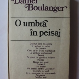 Daniel Boulanger - O umbra in peisaj