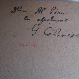 G. Calinescu - Kiev, Moscova, Leningrad (cu autograf)