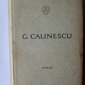 G. Calinescu - Opere III-IV-V-VI (4 vol., editii hardcover)