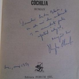 Gheorghe Schwartz - Cochilia (cu autograf)