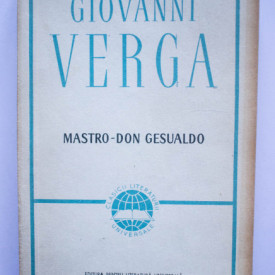 Giovanni Verga - Maestro-Don Gesualdo