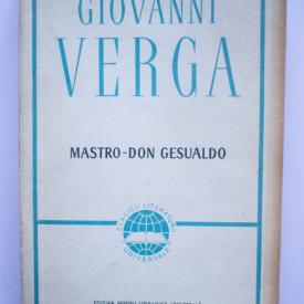 Giovanni Verga - Maestro-Don Gesualdo