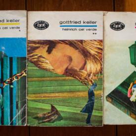 Gottfried Keller - Heinrich cel Verde (3 vol.)