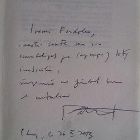 H.-R. Patapievici - Politice (cu autograf)