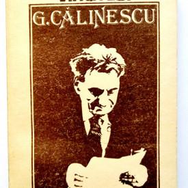 Ion Balu - Viata lui G. Calinescu