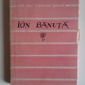 Ion Banuta - Versuri. Cele mai frumoase poezii
