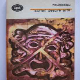 J. J. Rousseau - Scrieri despre arta