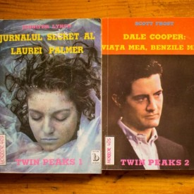 Jennifer Lynch, Scott Frost - Twin Peaks (Jurnalul secret al Laurei Palmer. Dale Cooper: viata mea, benzile mele) (2 vol.)