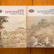 Johann Wolfgang von Goethe - Anii de drumetie ai lui Wilhelm Meister (2 vol.)