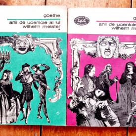 Johann Wolfgang von Goethe - Anii de ucenicie ai lui Wilhelm Meister (2 vol.)