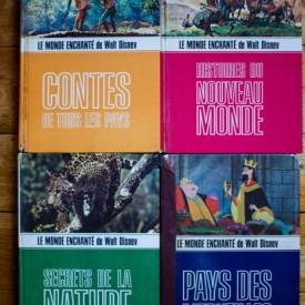Le Monde Enchante de Walt Disney - Pays des merveilles, Secrets de la nature, Contes de tous les pays, Histoires du nouveau monde (4 vol.)