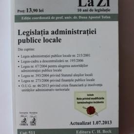 Legislatia administratiei publice locale