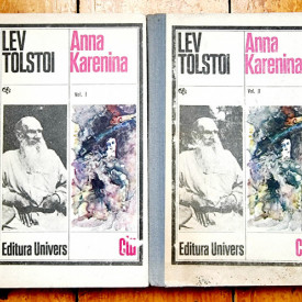 Lev Tolstoi - Anna Karenina (2 vol., editie hardcover)
