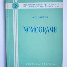M. V. Pentkovski - Nomograme