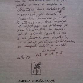 Mircea Horia Simionescu - Trei oglinzi (cu autograf)
