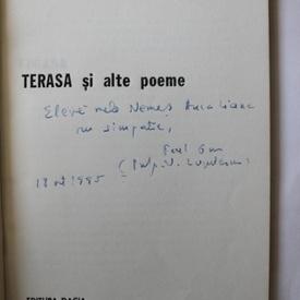 Paul Gon - Terasa si alte poeme (cu autograf)