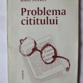 Radu Stanca - Problema cititului