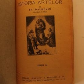St. Baldovin - Istoria artelor (editie interbelica)