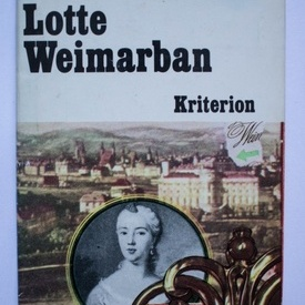Thomas Mann - Lotte Weimarban (editie hardcover, in limba maghiara)