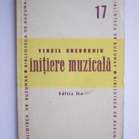 Virgil Gheorghiu - Initiere muzicala