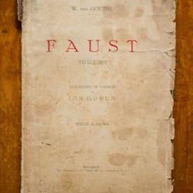 W. von Goethe - Faust (tragedie) (editie interbelica)