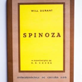 Will Durant - Spinoza (editie facsimilata)