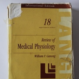 William F. Ganong - Review of Medical Physiology (editie in limba engleza)
