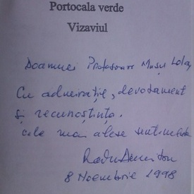 Teatru - Radu Dumitru, Horia Garbea, Dan Mihu, Iosif Naghiu, Matei Visniec (cu autograful scriitorului Radu Dumitru)
