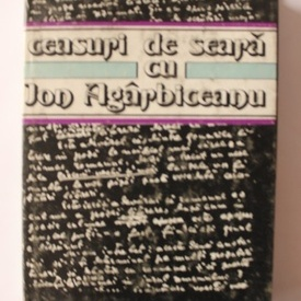 Mircea Zaciu - Ceasuri de seara cu Ion Agarbiceanu (editie hardcover)