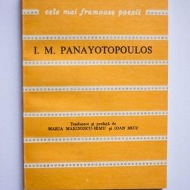 I. M. Panayotopoulos - Fereastra deschisa spre univers. Cele mai frumoase poezii