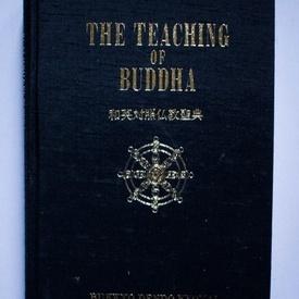 The teaching of Buddha (editie hardcover, bilingva, engleza-japoneza)